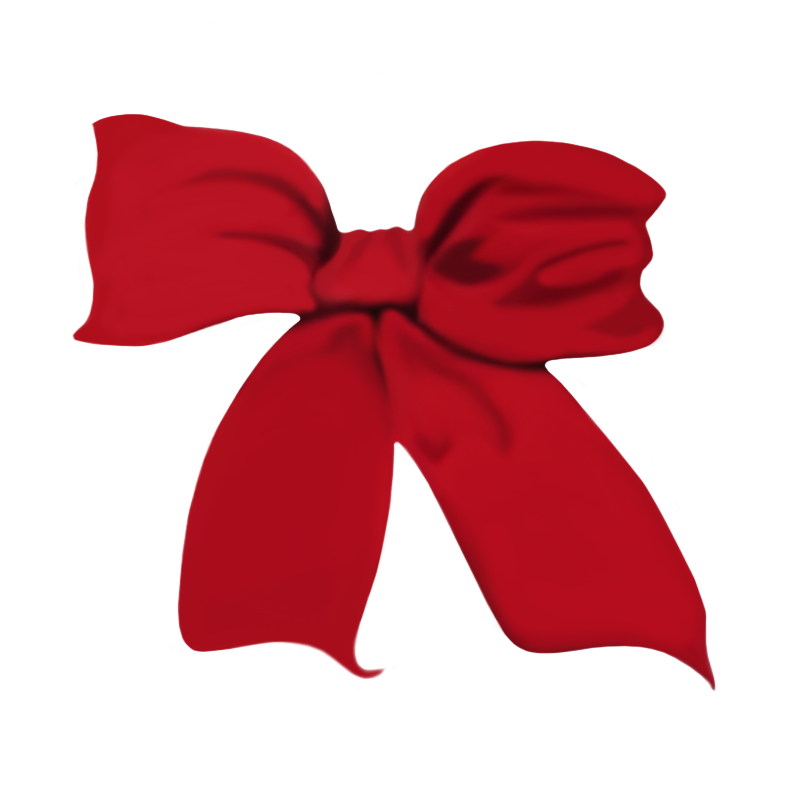 Red christmas bow clipart graphic free library A Red Christmas Bow IMG 2731 by WDWParksGal-Stock on DeviantArt graphic free library