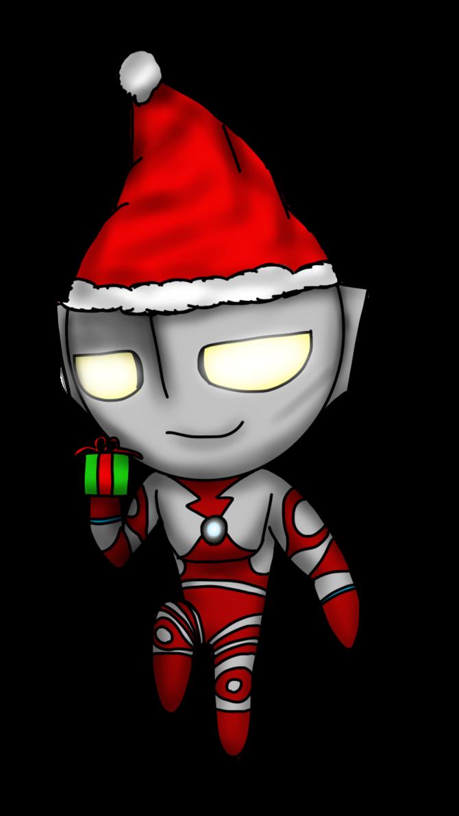 Christmas 2016 clipart svg transparent stock Ultraman lazer cute Christmas 2016 by WallpapperUltra16 on DeviantArt svg transparent stock