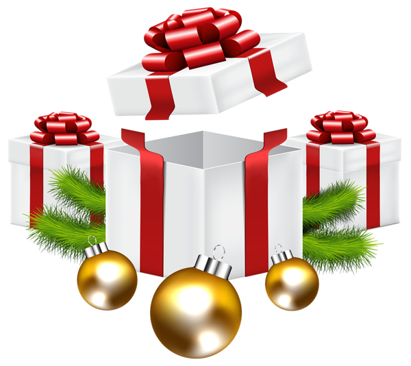 Clipart christmas gifts