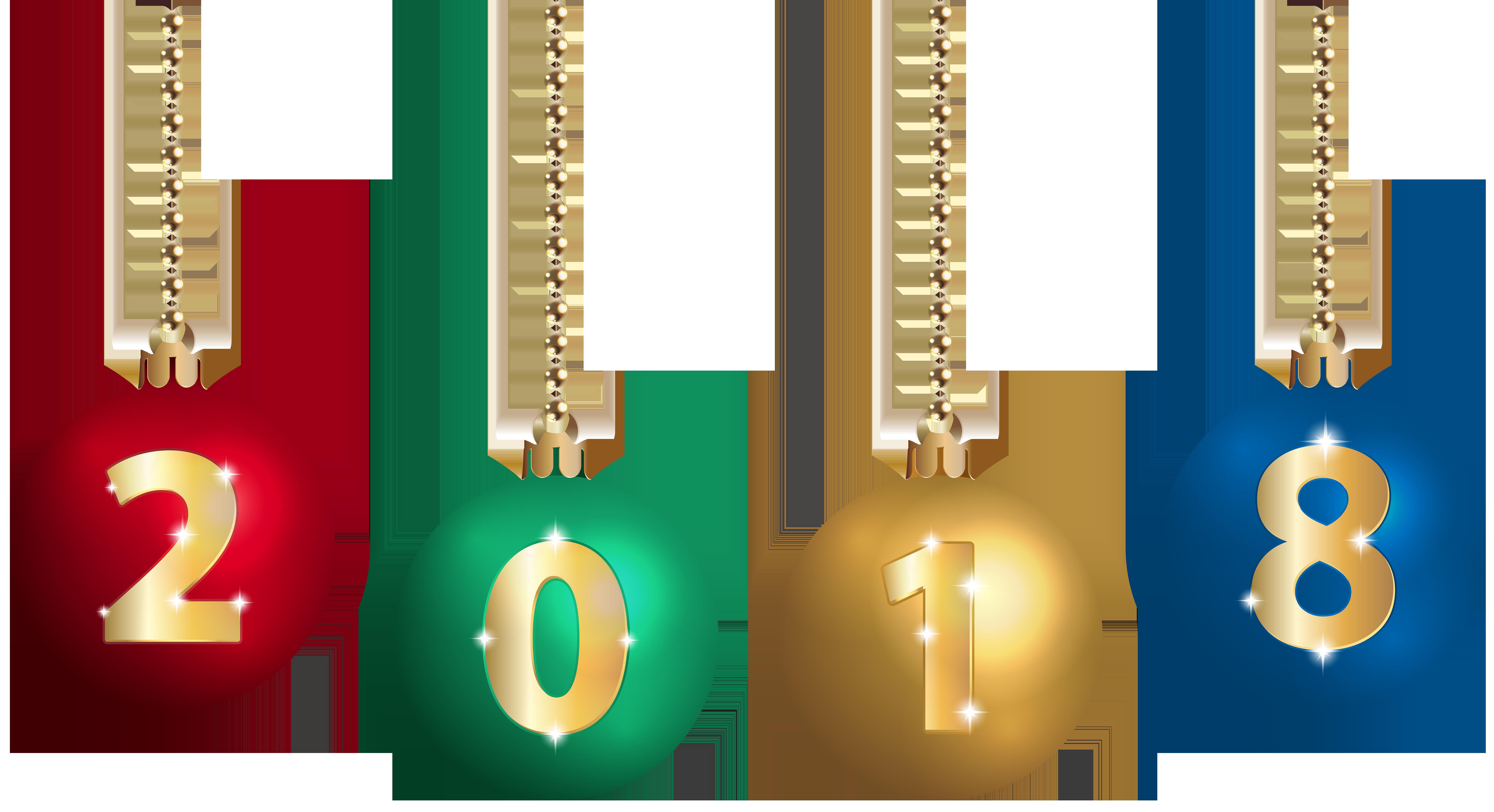 Christmas 2018 clipart image transparent download 2018 on Christmas Balls Transparent Clip Art | Gallery Yopriceville ... image transparent download