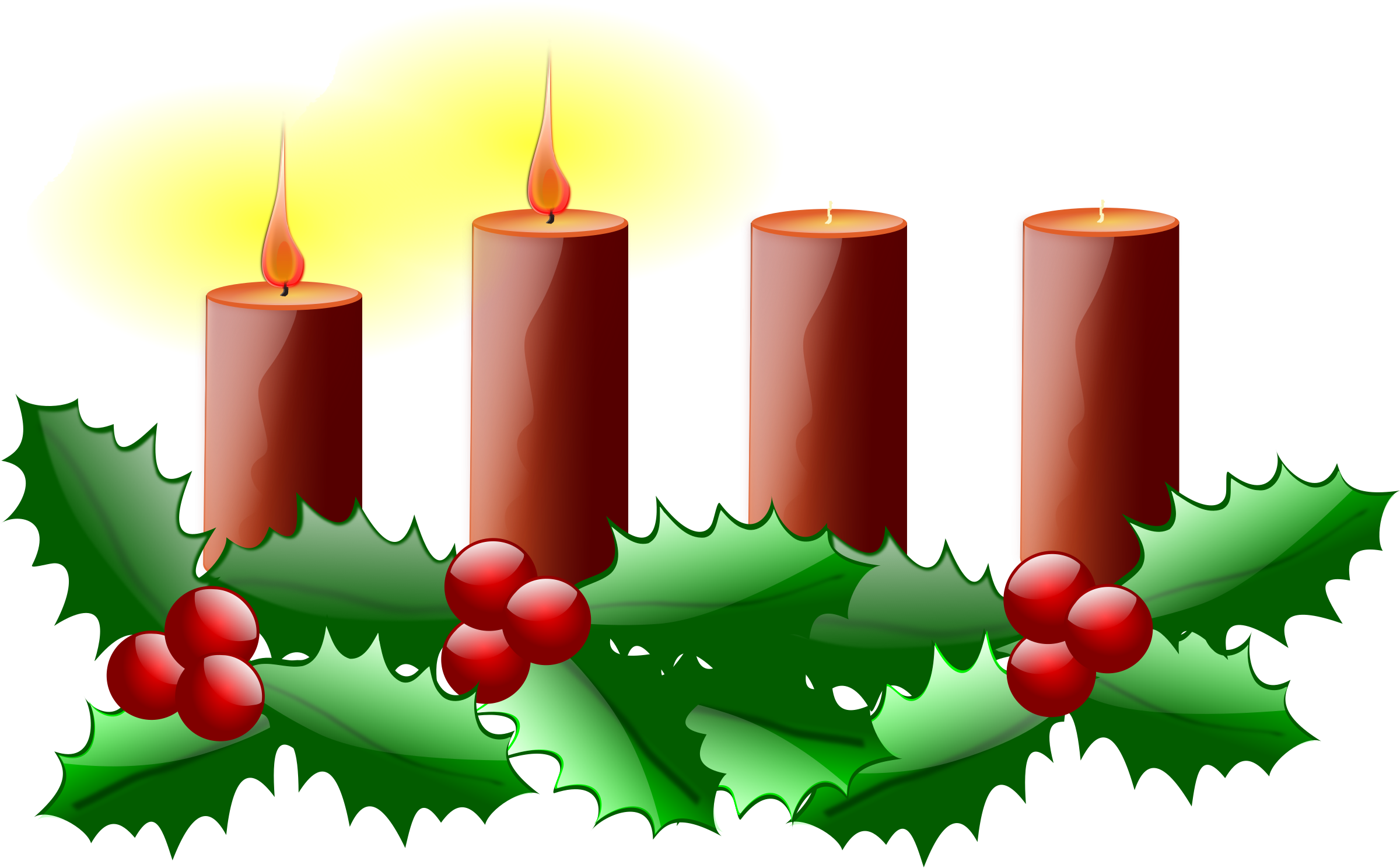 Christmas advent clipart graphic download Clipart - Second Sunday of Advent graphic download