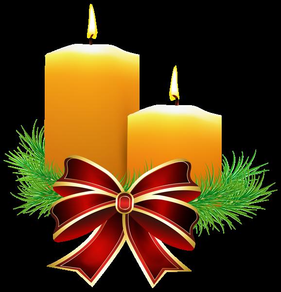 Christmas pinecone clipart graphic transparent download Christmas Candles Transparent PNG Clip Art Image | CHRISTMAS THEME ... graphic transparent download