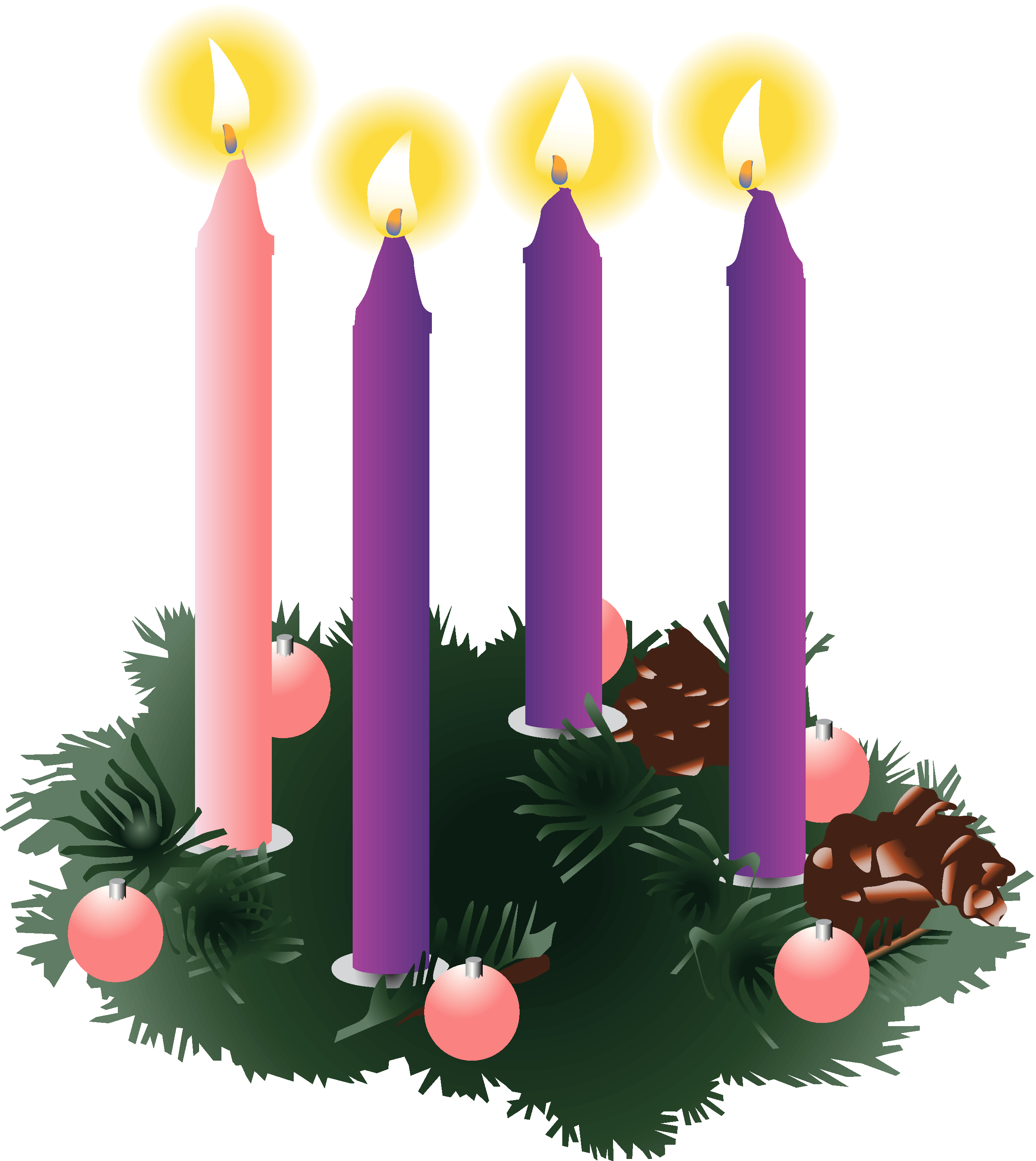 Christmas advent clipart transparent stock Advent Family Project Craft Making: Nov 29 & Dec 3 - The Church of ... transparent stock