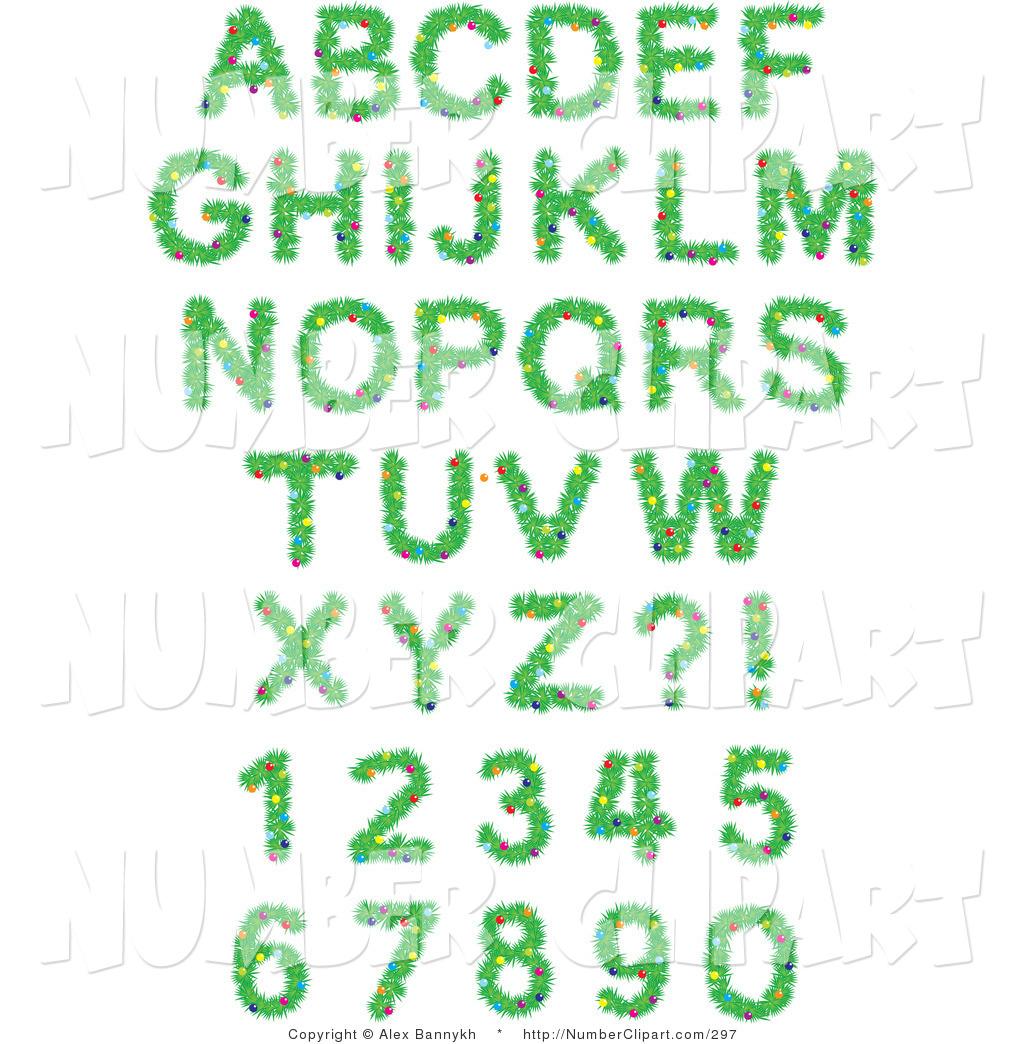 Christmas alphabet clip art free banner royalty free Christmas Alphabet Letters Clipart - Clipart Kid banner royalty free