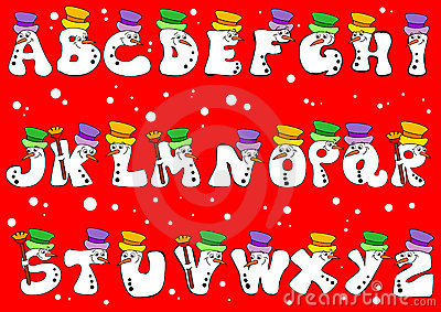 Christmas alphabet clip art free vector transparent Christmas Alphabet Royalty Free Stock Photography - Image: 6881707 vector transparent