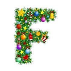 Christmas alphabet clip art free graphic royalty free Christmas Alphabet Letters Clipart - Clipart Kid graphic royalty free