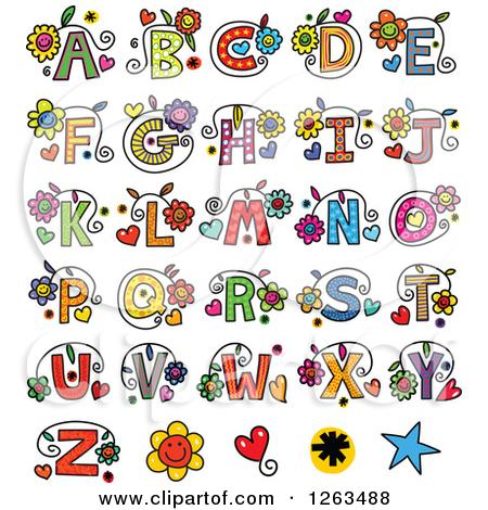 Christmas alphabet clip art free png transparent library Christmas Alphabet Letters Clipart - Clipart Kid png transparent library