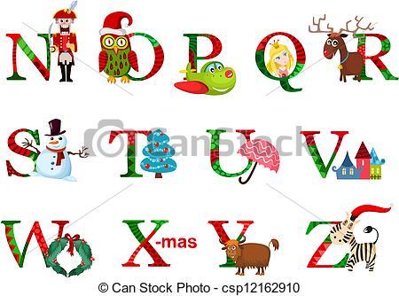 Christmas alphabet clip art free transparent stock Christmas alphabet clip art free - ClipartFest transparent stock