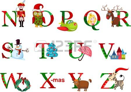 Christmas alphabet clipart banner 10,174 Christmas Alphabet Cliparts, Stock Vector And Royalty Free ... banner