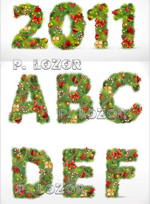 Christmas alphabet clipart banner transparent library Christmas Alphabet Clipart - Clipart Kid banner transparent library