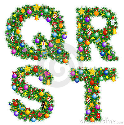 Christmas alphabet clipart png library Christmas Alphabet Letters Clipart - Clipart Kid png library
