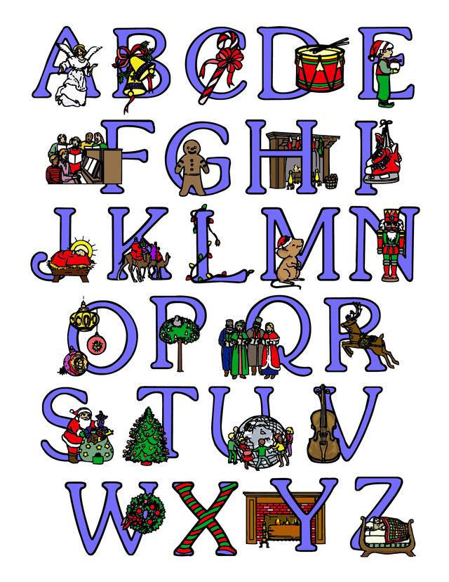 Christmas alphabet clipart letters jpg transparent Free fancy christmas alphabet clipart - ClipartFox jpg transparent