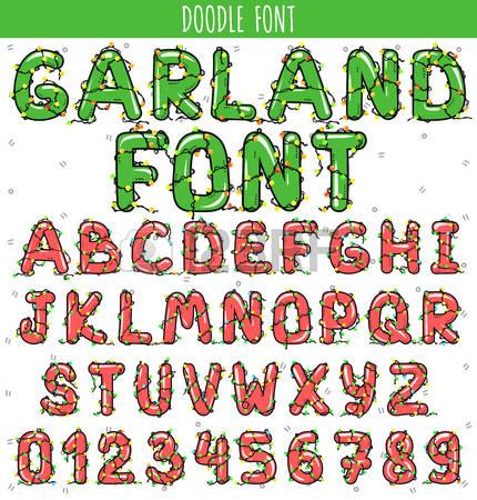 Christmas alphabet clipart letters jpg transparent library Free christmas alphabet clipart - ClipartFest jpg transparent library