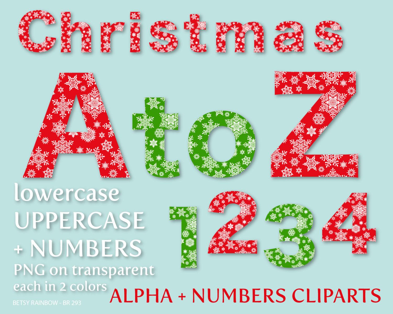 Christmas alphabet letter clipart png stock Christmas alphabet clipart letters - ClipartFox png stock