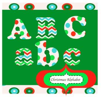 Christmas alphabet letter clipart jpg royalty free download Christmas Alphabet Letters Clipart - Free Clipart jpg royalty free download