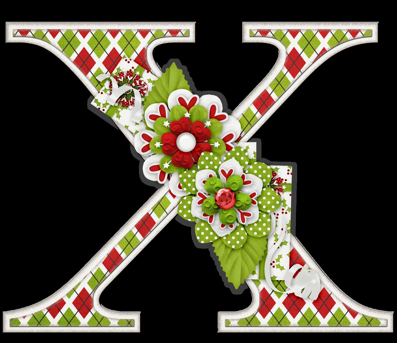 Peppermint patty alphabet clip. Christmas clipart letters