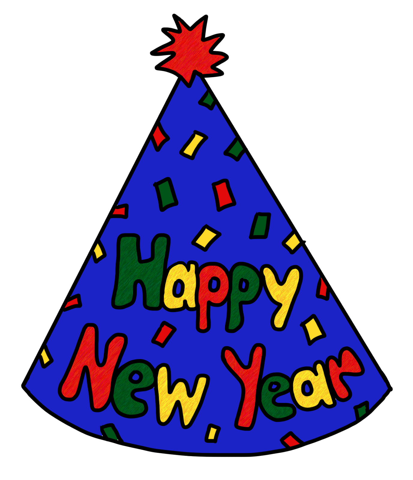 Christmas and new year clipart clip freeuse stock New-years-eve-animated-happy-new-year-clipart-clipartdeck-clip ... clip freeuse stock