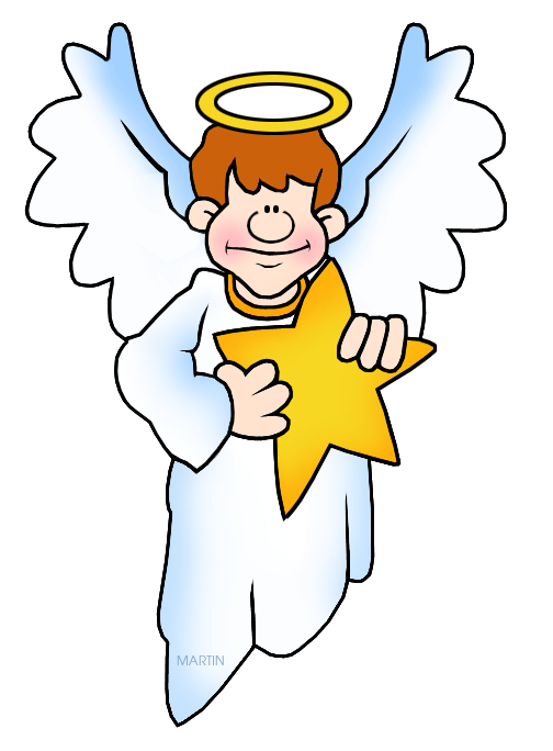 Christmas angels clipart black and white clip free Christmas Clip Art by Phillip Martin, Christmas Angel clip free
