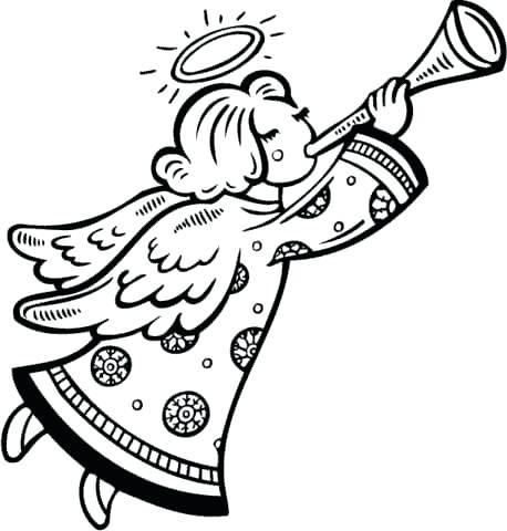 Christmas angels black and whtie clipart pencil sketch jpg black and white stock christmas angel drawing – jehovaahswitnesses.info jpg black and white stock