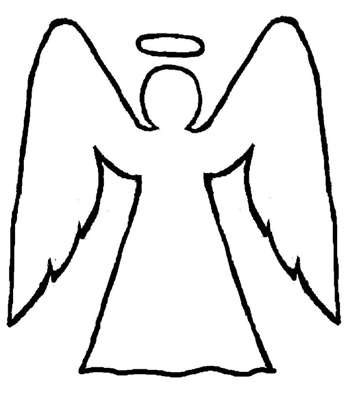 Christmas angels black and whtie clipart pencil sketch graphic transparent library Collection of Angels clipart | Free download best Angels clipart on ... graphic transparent library