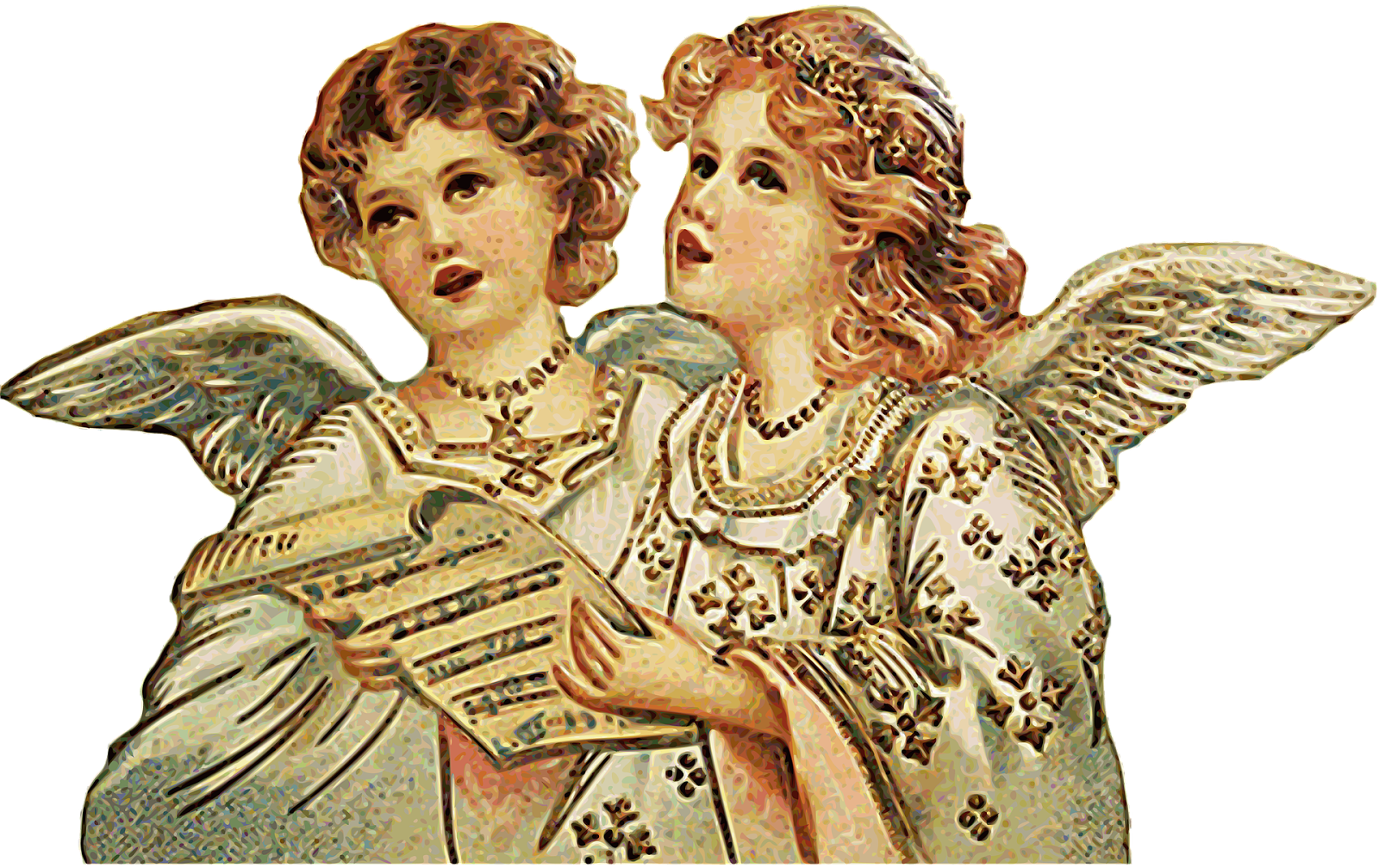 Christmas angels singing clipart image royalty free Other Food: daily devos: 2015 image royalty free