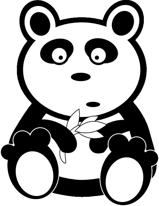 Christmas animal clipart vector freeuse clipartist.net » Clip Art » adam lowe panda black white line art ... vector freeuse