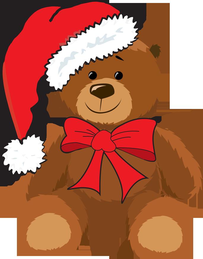 Christmas animal clipart vector black and white stock Web Design & Development | Pinterest | Christmas animals, Teddy bear ... vector black and white stock