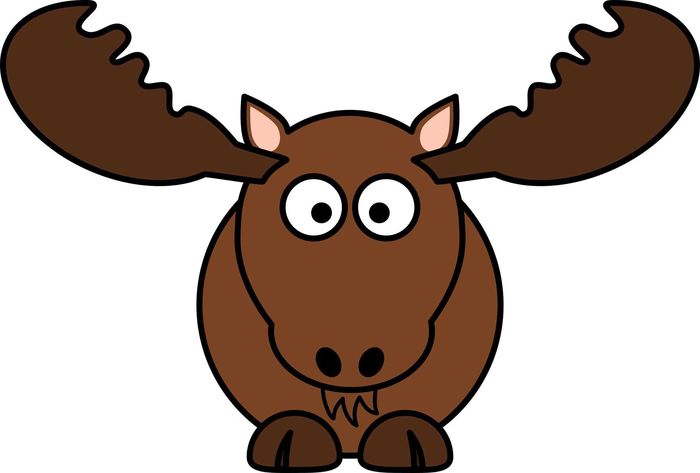 Christmas funny clipart clip art royalty free Christmas Moose Clipart at GetDrawings.com | Free for personal use ... clip art royalty free