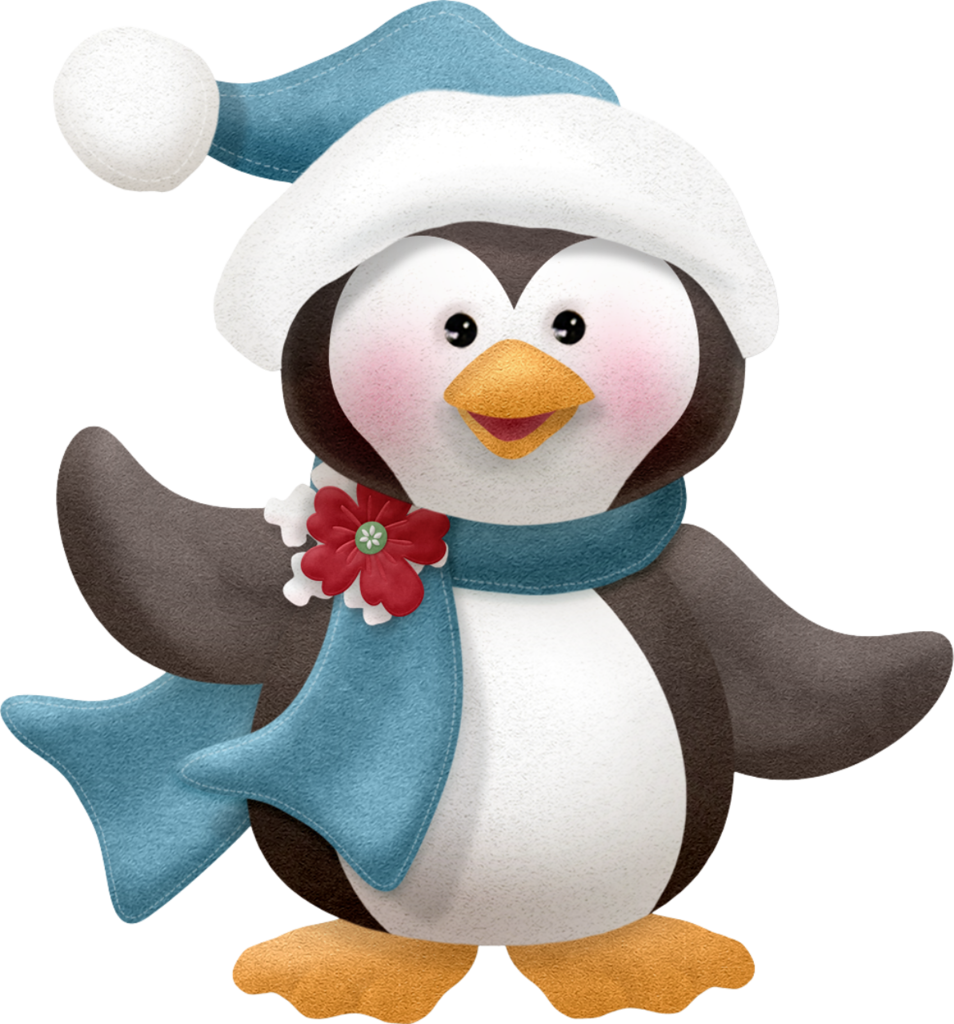 Christmas animals clipart clip black and white download tree_1.png | Pinterest | Penguins, Xmas and Christmas images clip black and white download