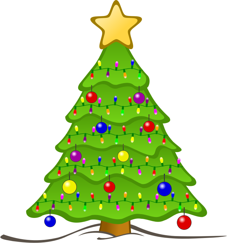 Cute tree clipart svg library download Clipart - Animated Christmas Tree svg library download