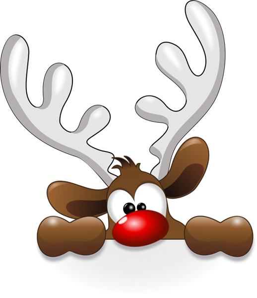 Funny christmas clipart free vector transparent library Free to Use & Public Domain Reindeer Clip Art … | clip art… vector transparent library