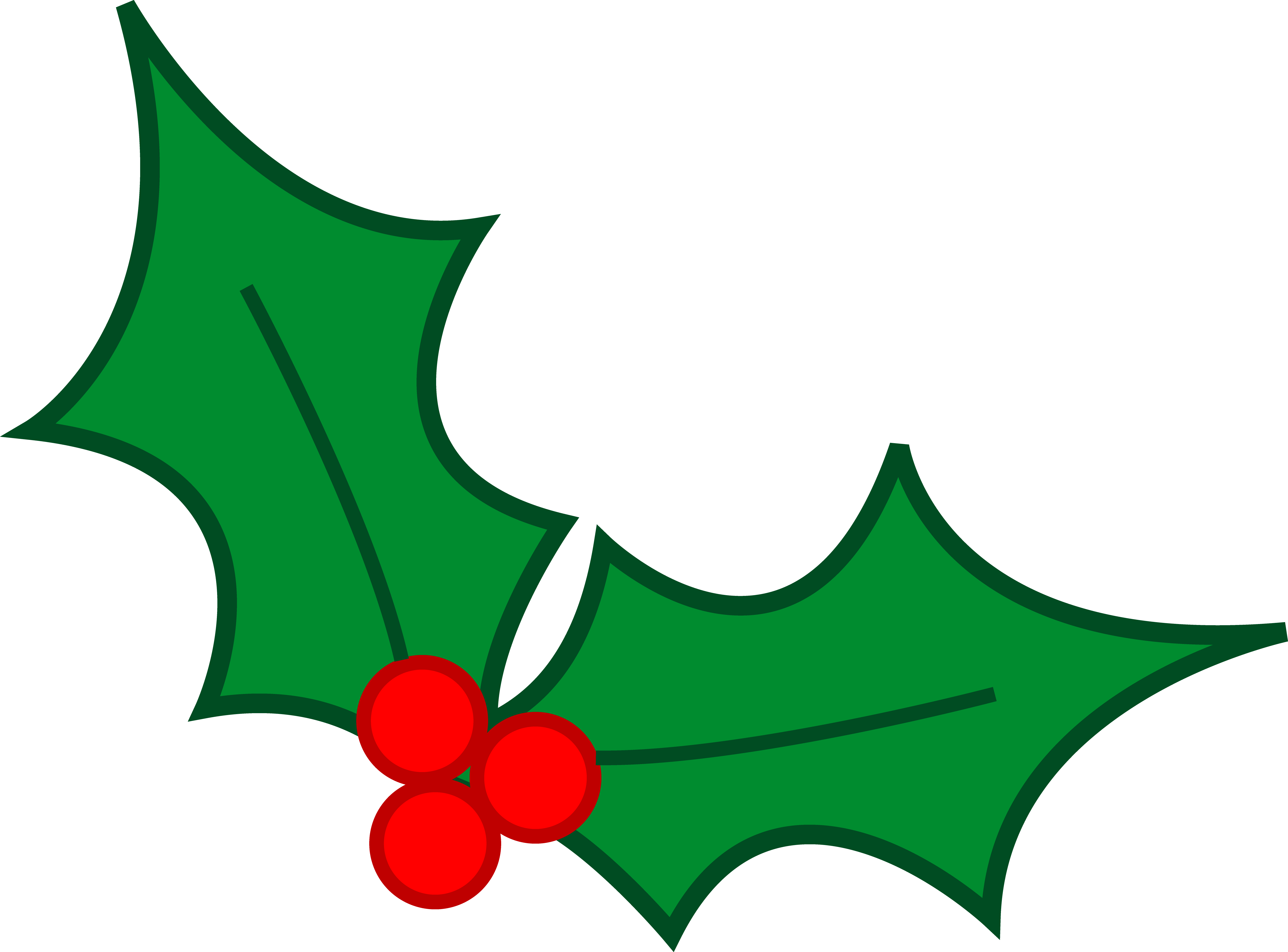 Christmas at clipart svg freeuse download Free Christmas Clip Art Holly   Clipart Panda - Free Clipart Images svg freeuse download