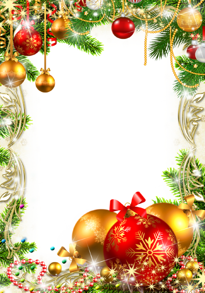 Christmas background clipart free banner freeuse 31 Christmas Decoration PNG Images With Transparent Background ... banner freeuse