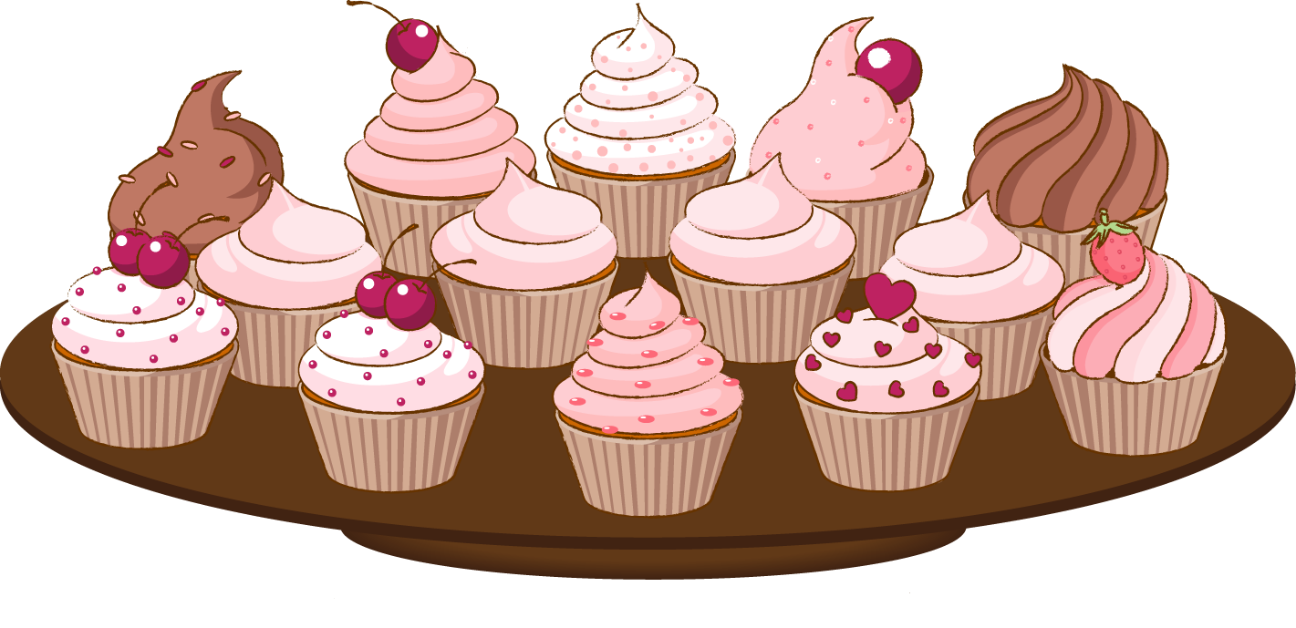 Heart cake clipart graphic library Bake sale clip art of a cupcake with sprinkles cake clipart ... graphic library