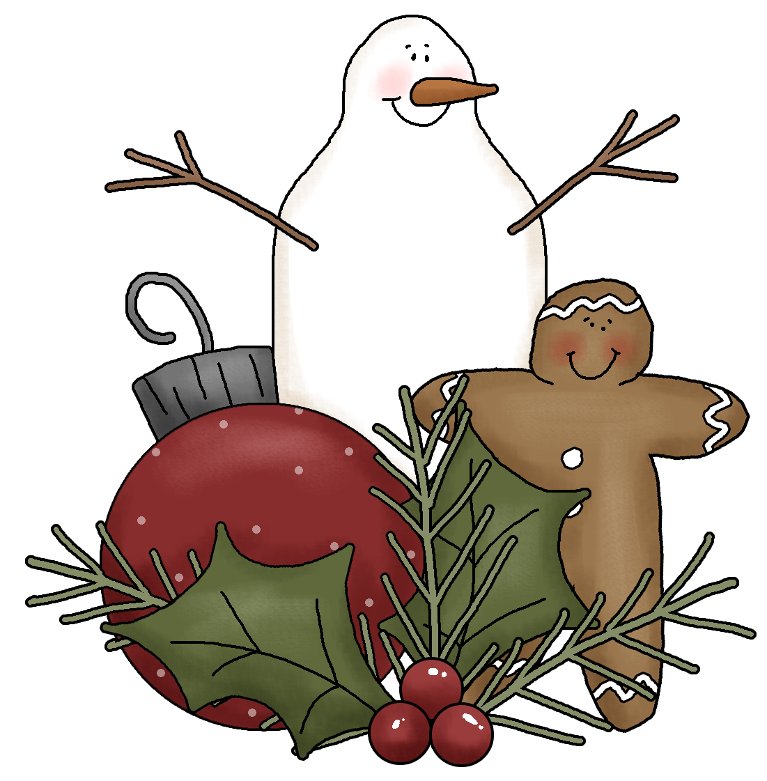 Country christmas clipart jpg transparent download Crafts clipart holiday craft - Graphics - Illustrations - Free ... jpg transparent download
