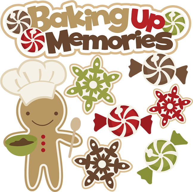 Christmas baking clipart image download Baking Up Memories SVG cutting files free svg cuts christmas svg cut ... image download