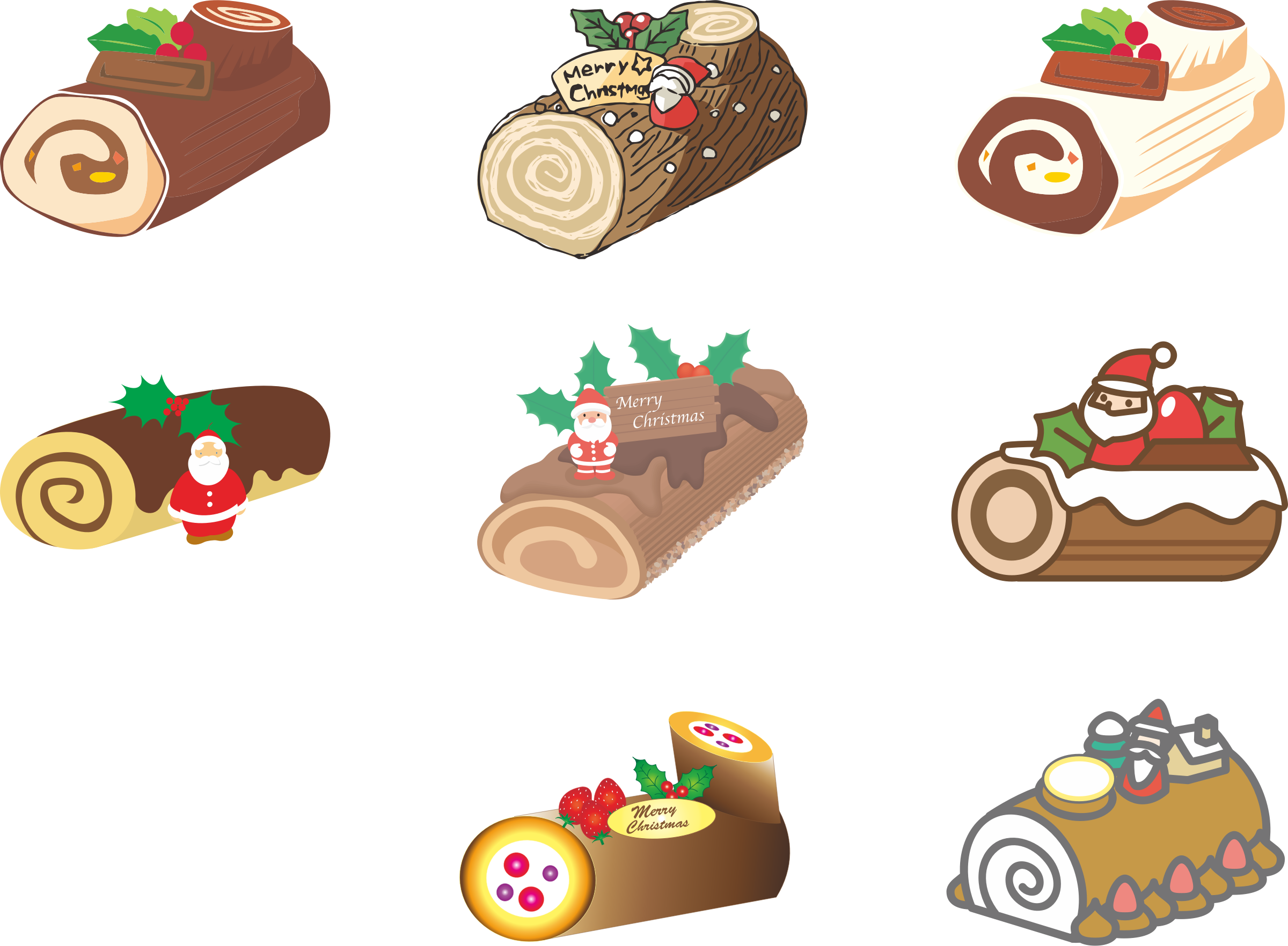 Christmas baking clipart png freeuse stock Clipart - Japanese Christmas Cake (#1) png freeuse stock