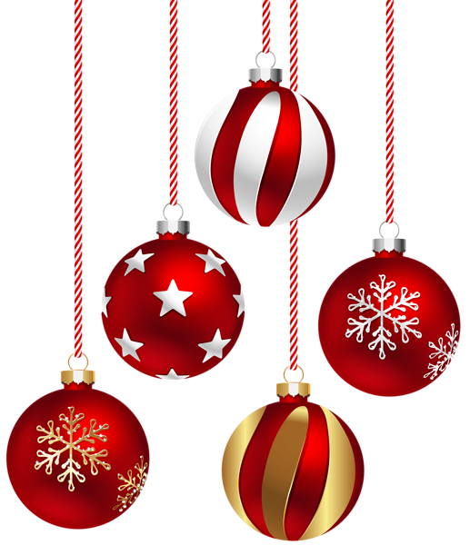 Christmas ball clipart royalty free library Christmas Balls Transparent PNG Image | New Year | Pinterest ... royalty free library