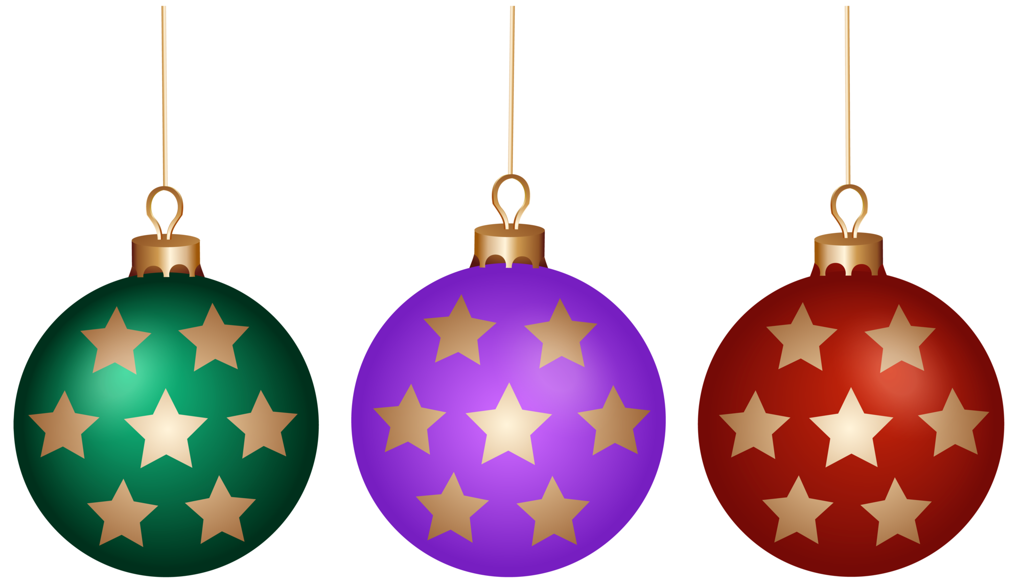 Christmas ball clipart picture library library Christmas Balls Set PNG Clip Art picture library library