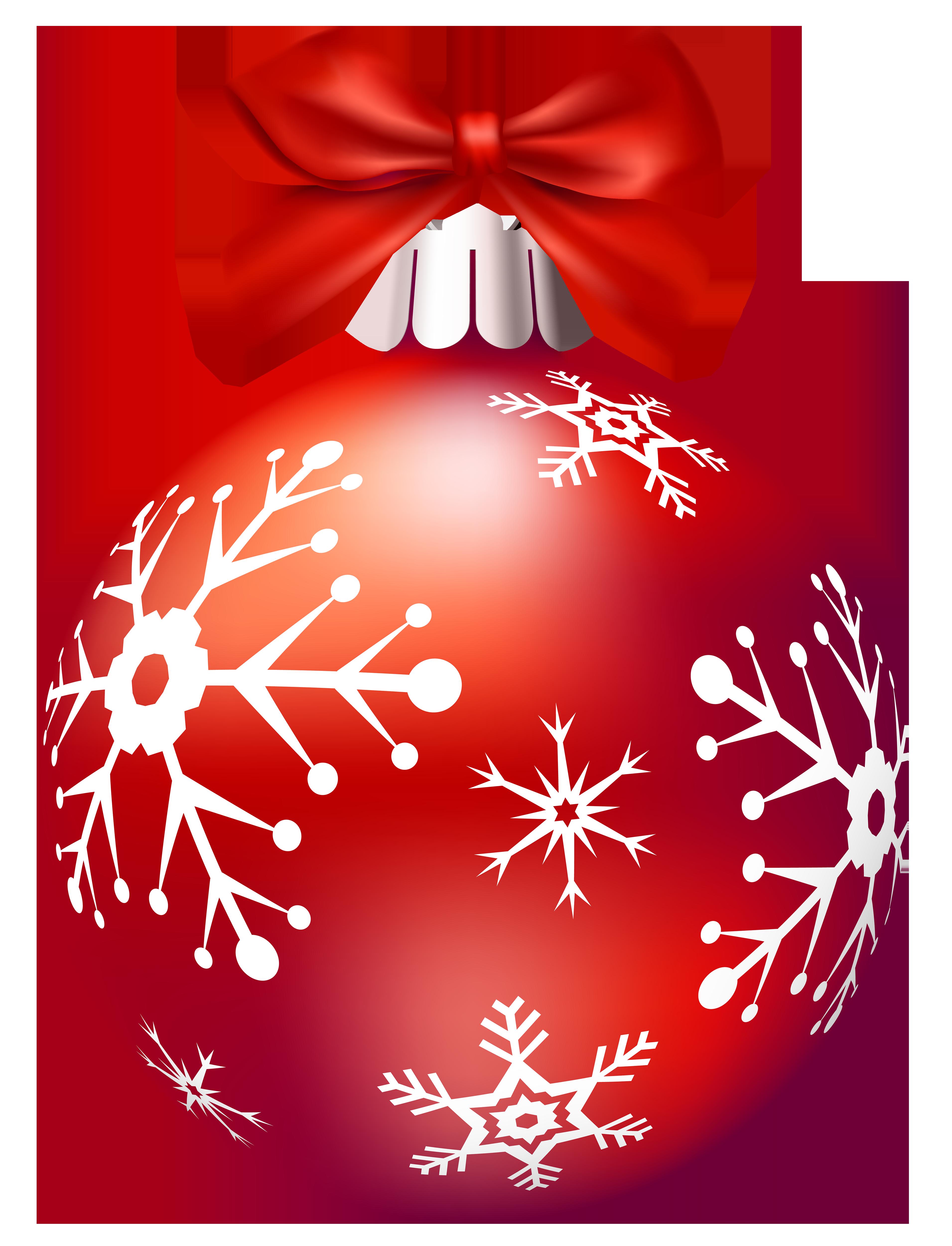 Christmas balla clipart clip art black and white Red Christmas Balls PNG Clip Art - Best WEB Clipart clip art black and white