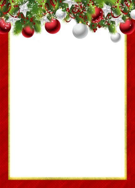 Free printable christmas border clipart png free download Free christmas borders you can download and print christmas clip art ... png free download