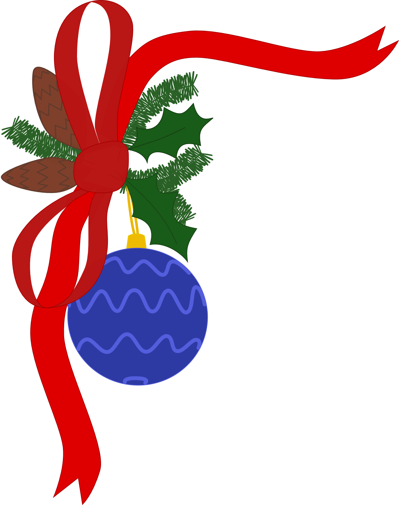 Christmas decorations download clip. Free holiday potluck clipart