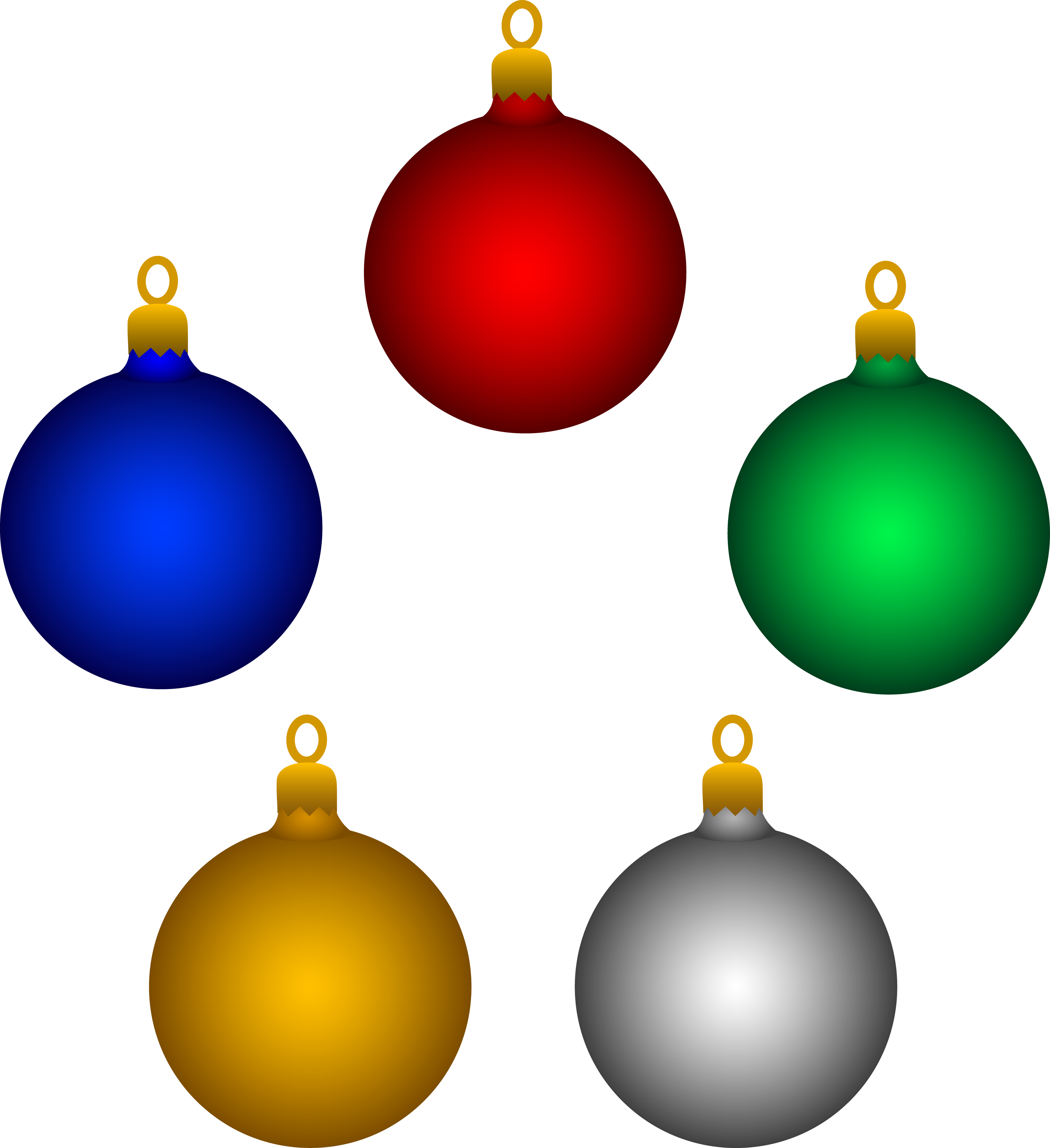 Gold christmas ornaments clipart free library Free Christmas Balls Clipart, Download Free Clip Art, Free Clip Art ... free library