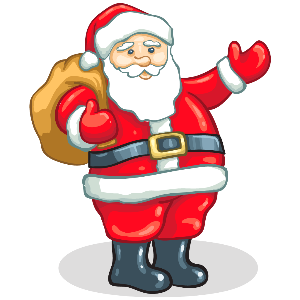 Christmas baseball clipart banner black and white stock Father Xmas Picture Group (56+) banner black and white stock