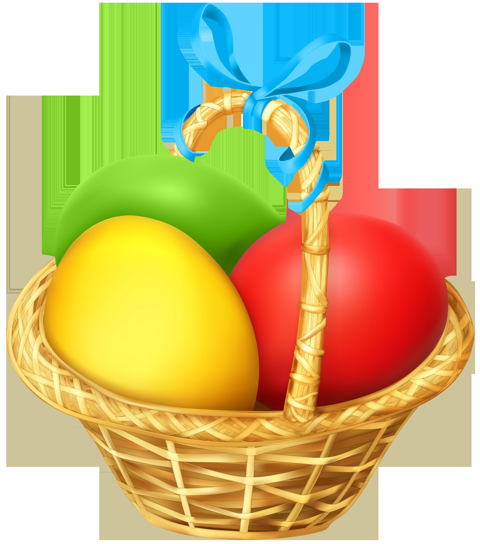 Christmas basket clipart image freeuse download Easter Basket Transparent PNG Clip Art | Gallery Yopriceville ... image freeuse download