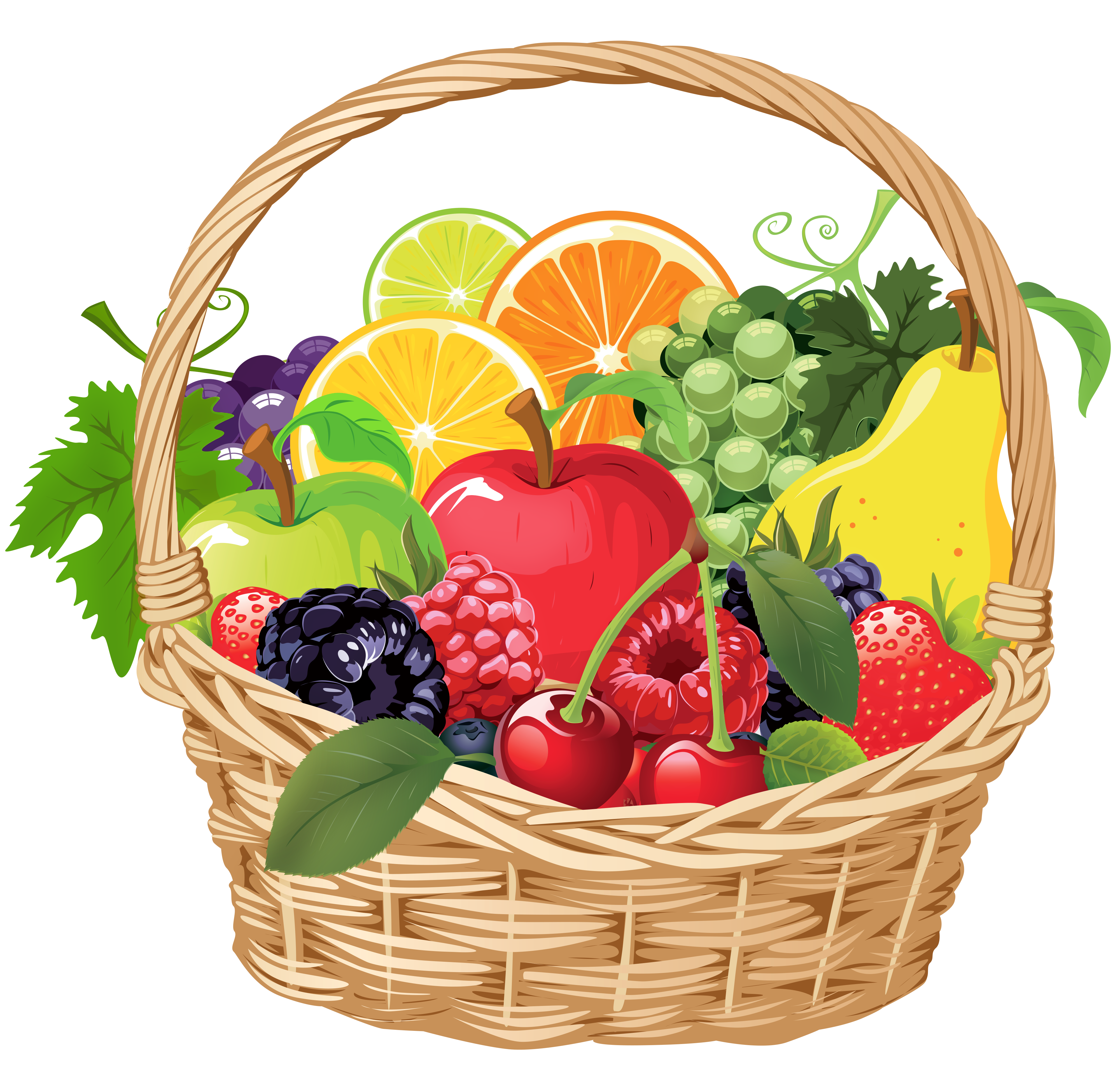 Christmas basket clipart image transparent 28+ Collection of Christmas Baskets Clipart | High quality, free ... image transparent