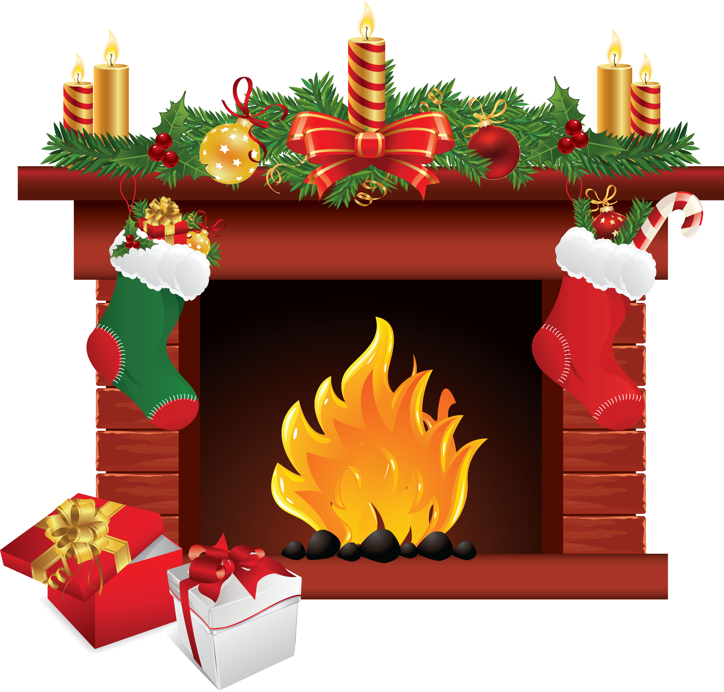 Christmas baskets clipart clipart freeuse stock 16 Ideas About Free Christmas Clip Art | Merry Christmas clipart freeuse stock