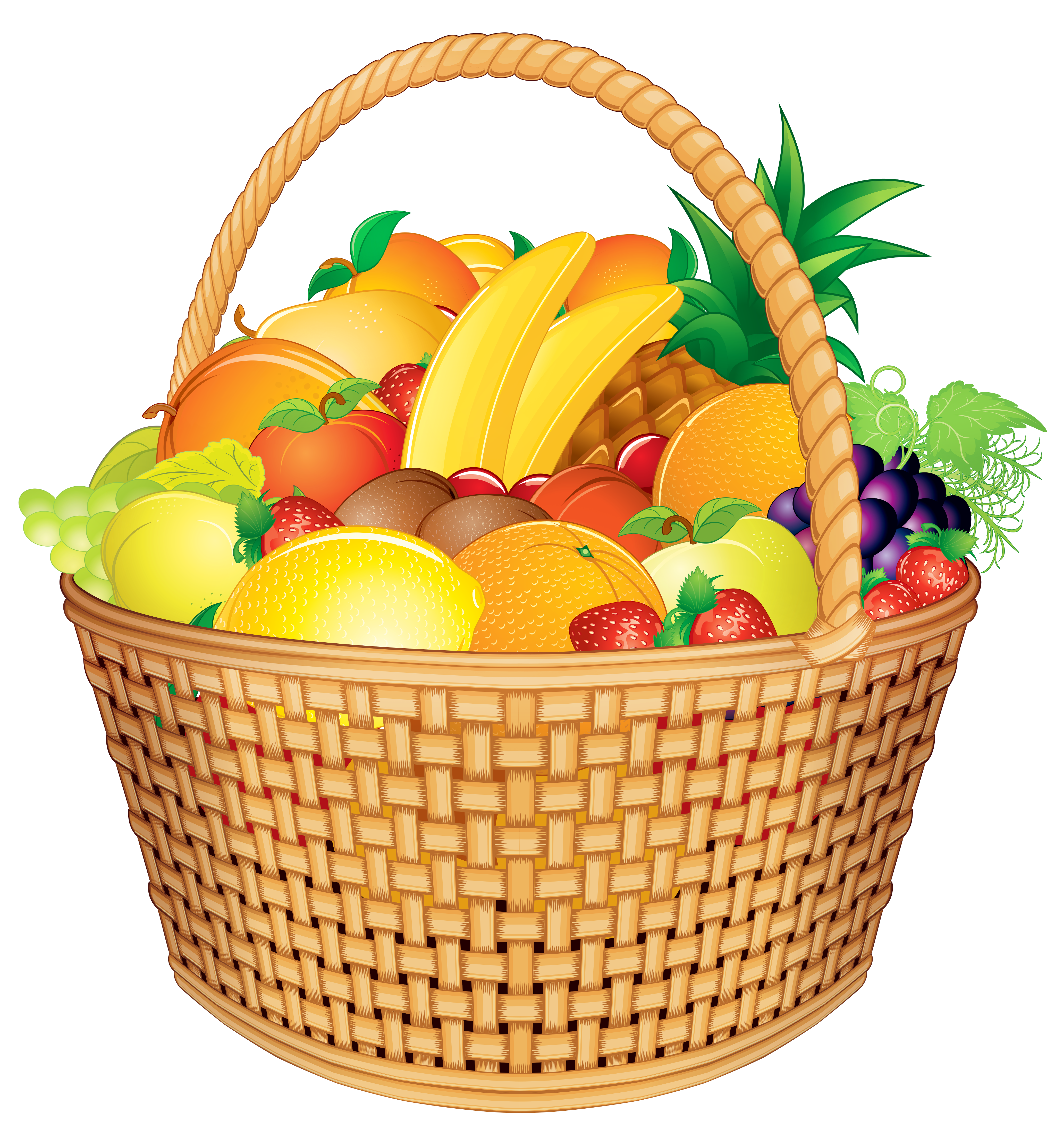 Christmas baskets clipart jpg royalty free download Gift Basket PNG HD Transparent Gift Basket HD.PNG Images. | PlusPNG jpg royalty free download