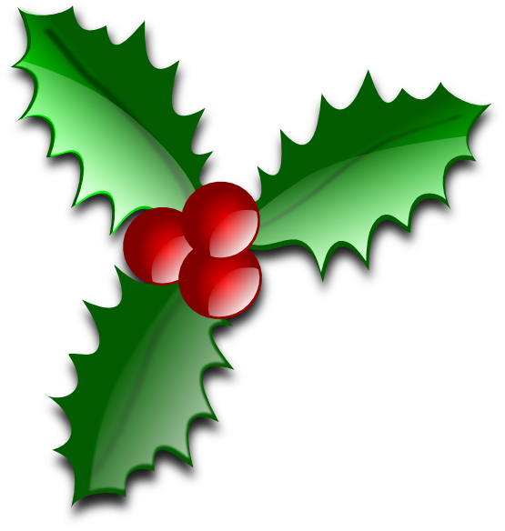 Christmas clipart holly jpg black and white stock Christmas in Paradise Bazaar jpg black and white stock