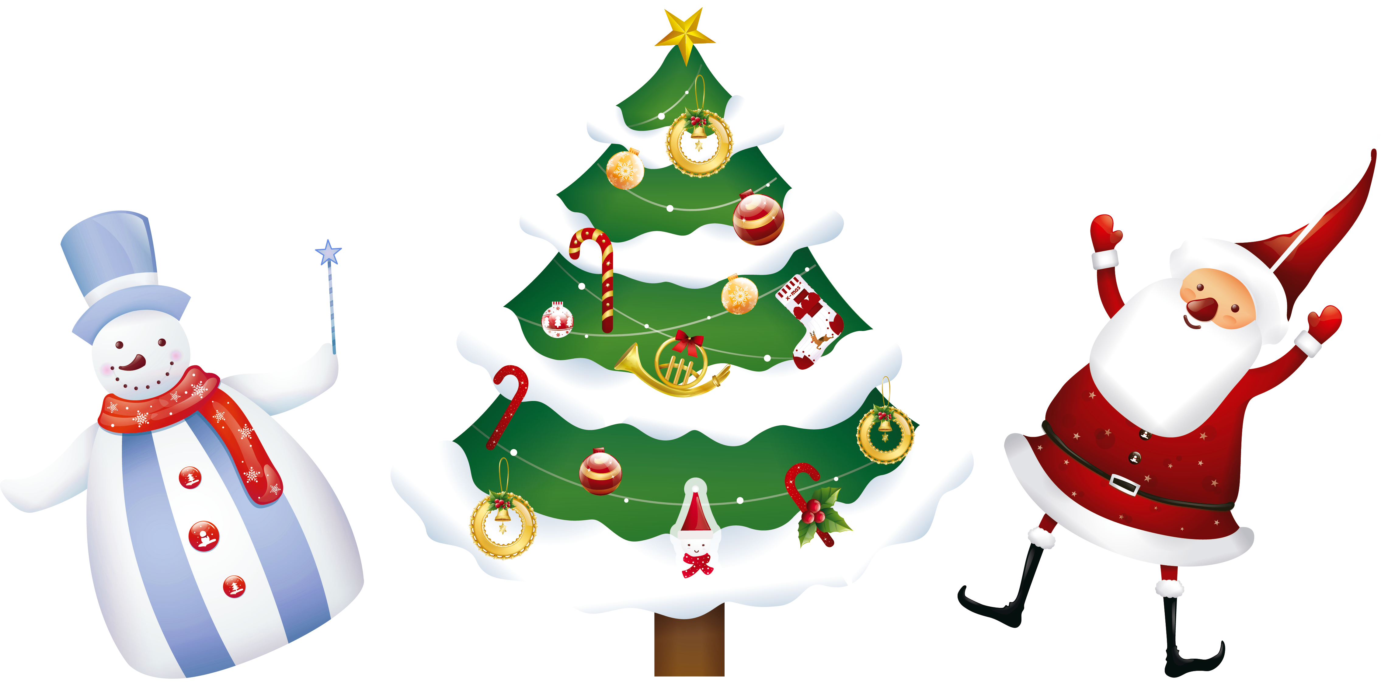 Snowman christmas tree clipart graphic transparent stock 28+ Collection of Beach Snowman Clipart | High quality, free ... graphic transparent stock